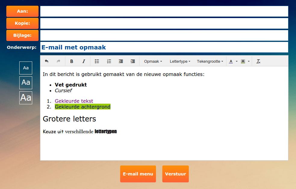 email-opstellen-opmaak