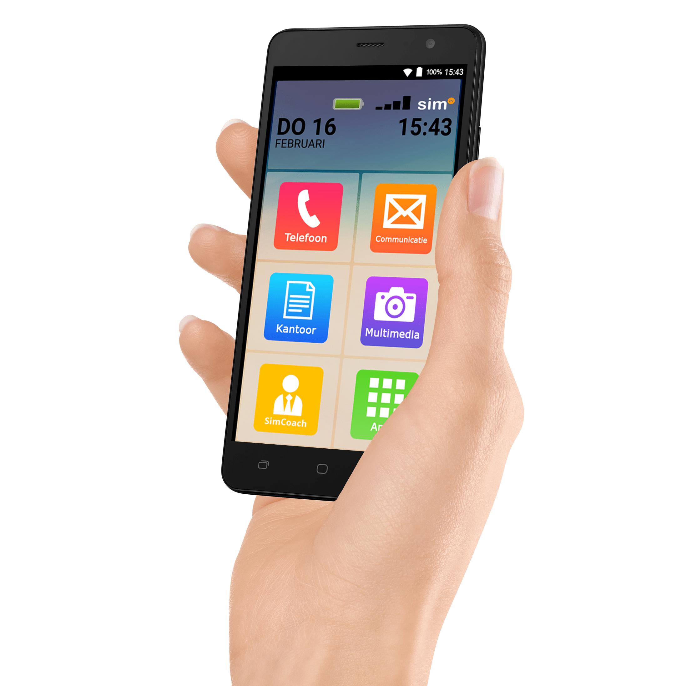 SimPhone 3 • Een smartphone speciaal voor senioren!