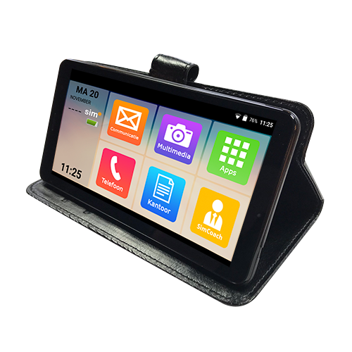 simphone 3 eenvoudige senioren smartphone incl gratis. Black Bedroom Furniture Sets. Home Design Ideas