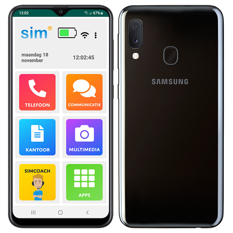 SimPhone 4 Mobiele telefoon voor ouderen