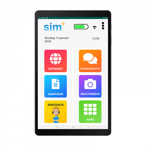 Simtab senioren tablet