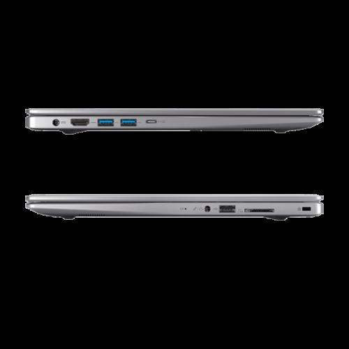 Laptop Medion Akoya zijkant