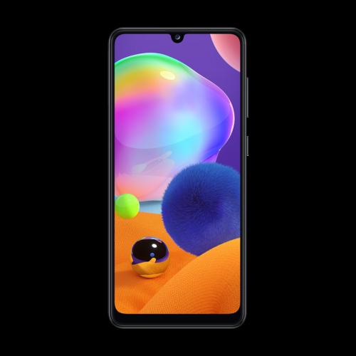Samsung Galaxy A31 met ondersteuning