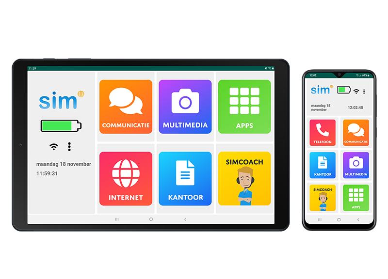 SimPhone en Simtab
