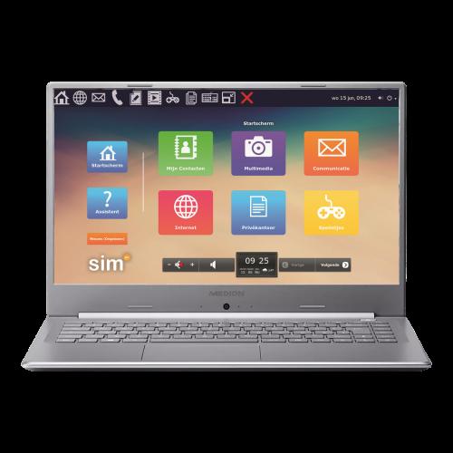 Senioren tablet SimTop 2021