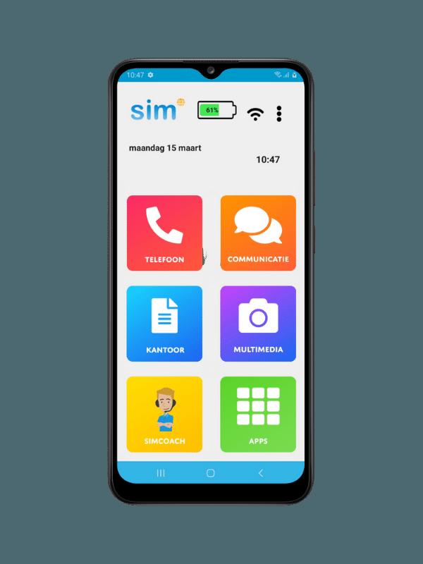 simphone 5 senioren smartphone